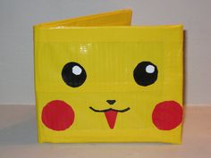 Duct Tape Arts and Crafts | Happy Pikachu Duct Tape Wallet by ~jodawg on deviantART