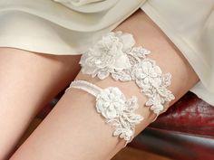 Garter - bridal garter, wedding garter, lace garter