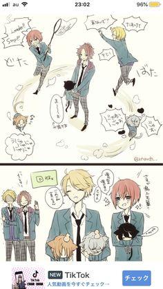 Ensemble Stars, Doujinshi, Photo S, Anime, Idol, Kawaii, Manga, Fictional Characters, Knights