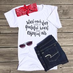 The perfect essential oil inspired summer outfit! Click to shop.