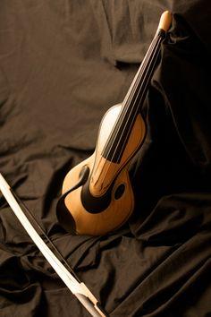 Un violin muy sonriente!