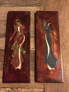 A personal favorite from my Etsy shop https://www.etsy.com/listing/494535515/vintage-asian-women-art-wooden-wall