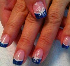 Snowflake Nails                                                                                                                                                                                 More