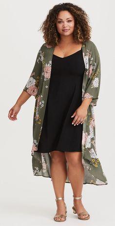 Plus Size Kimono - Plus Size Fashion for Women #plussize