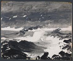 "Peder Balke ""The Tempest"" - for the house"