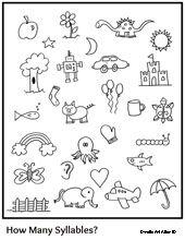 Syllables Worksheets For Kindergarten & syllable worksheets for ...