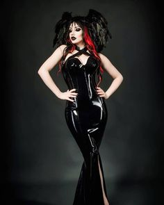 "7,055 Likes, 29 Comments - Dani Divine Official (@dani_divine) on Instagram: ""A darker shade of black  @sinicalmagazine Photography by Frankinsella Latex @houseofharlot…"""