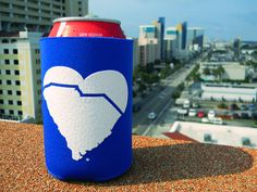 Koozies on the roof!!!