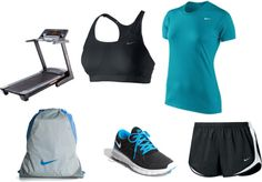 """All Nike"" by clariguerrero on Polyvore"