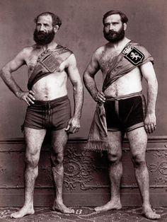 Leon Cremiere - Wrestlers, 1867