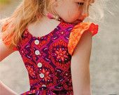 Kate's Dress 12 mths to 10 yrs PDF Pattern by TheLilyBirdStudio
