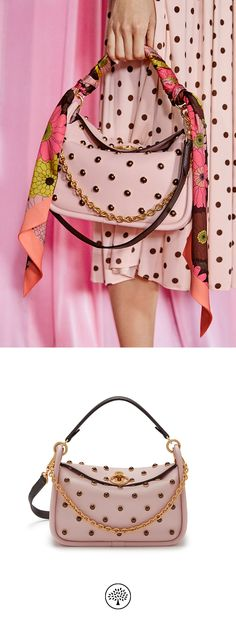 7353c870b74 Shop the Small Leighton in Icy Pink & Pearl on Mulberry.com. The