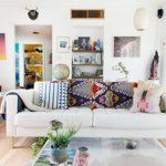 Ray & Laura's Austin home | Great eclectic and airy space.