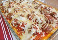 One Two Five: Recipes Meatball Sub Casserole