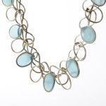Joyeria Contemporanea, Contemporary jeweller.Collar plata 925 y resina