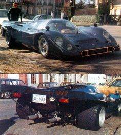 Porsche 917 converted for street use