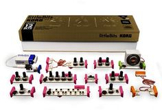 Korg Little Bits Build-Your-Own Synthesizer Kit (New Arrival)