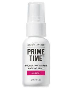 Bare Escentuals bareMinerals Prime Time Foundation Primer, 1 oz (58802)