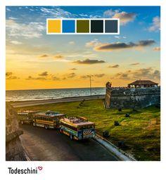 Cartagena de Indias, Patrimonio Histórico y Cultural de la Humanidad. Es sin duda, una ciudad que evoca historia, romanticismo, elegancia, y belleza natural, con colores que reflejan su majestuosidad. Recuerde que en Todeschini, tú eliges el color que se ajusta a tu perosnalidad. Foto tomada de: www.recreoviral.com #Diseñodeinteriores #Decoración #Todeschini #ambientes #mueblesamedida #arquitectura #colombia Belleza Natural, Desktop Screenshot, Custom Furniture, Romanticism, Cartagena, Elegance Fashion, Interior Design, Colombia, Cities