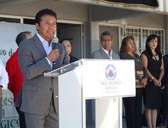 Leoncio Paisano Arias,en gira de trabajo por el municipio de San Andres Cholula