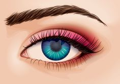 In today's tutorial I'm going to show you how to create a detailed eye from a stock image in Adobe Illustrator. We'll work from some basic skin shading around the eye, to eyelashes, then a detailed...