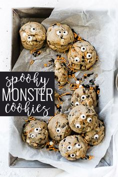 Halloween Cookie Recipes, Halloween Desserts, Halloween Food For Party, Halloween Cakes, Fall Desserts, Halloween Treats, Just Desserts, Delicious Desserts, Preschool Halloween