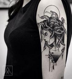 Medusa Tattoo                                                                                                                                                                                 Más #tattoosmen
