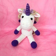 Amigurumi Unicorn Toy Crochet Unicorn Plush Mythical Creature Stuffed Animal Photo Prop Nursery Decor Kids Toy Kawaii Baby Shower Gift Ideas by AmiAmiGocco on Etsy