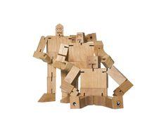Amazon.com: Areaware Julien Cubebot: Toys & Games