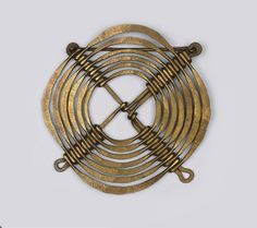 Belt Buckle |  Alexander Calder.  Brass wire.  circa 1940