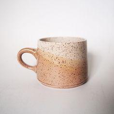 Freckled Tan Lines Mug Ceramic Mugs, Ceramic Pottery, Pottery Art, Ceramic Art, Stoneware, Ceramics Pottery Mugs, Latte Cups, Ceramic Design, Cute Mugs