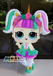 1 million+ Stunning Free Images to Use Anywhere Birthday Pinata, Unicorn Birthday Parties, Unicorn Party, Doll Party, Lol Dolls, Fun Crafts For Kids, Party Themes, Frozen, Cakes