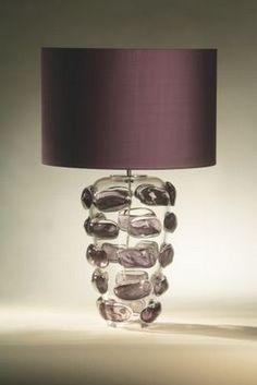amethyst porta romana lamp