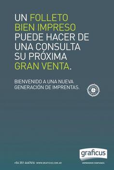 Cliente: Graficus – Imprenta. Agencia: INNOVA | Digital Marketing Agency.