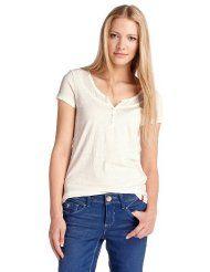 edc by ESPRIT Damen T-Shirt Regular Fit, 032CC1K039