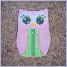 In-the-hoop Pencil Case 2 - Free Instant Machine Embroidery Designs