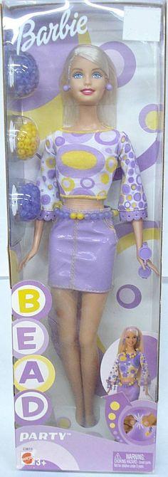 barbie bead party 2002