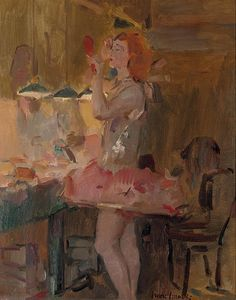 Isaac Israels (1865-1934)  Before the performance, Scala Theatre
