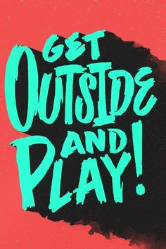 Creative Lettering, Play, -, Mike, and Greenwell image ideas & inspiration on Designspiration Bold Typography, Typography Quotes, Typography Letters, Typography Poster, Typography Wallpaper, Graphisches Design, Logo Design, Graphic Design, Wallpapers Tumblr