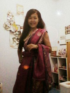 Different saree's style... I got this tutorial from google :D