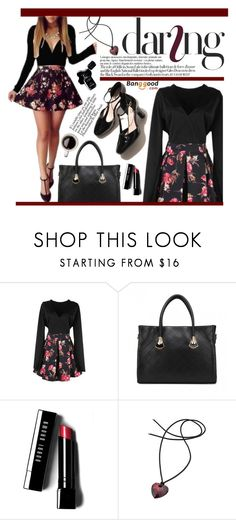 """Bangood 20."" by m-zineta ❤ liked on Polyvore featuring Anja, Bobbi Brown Cosmetics, Swarovski and Chanel"
