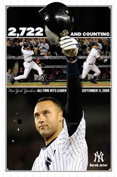 Derek Jeter All Time Hits Leader