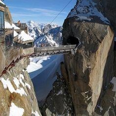 Sky Bridge, Mont Blanc, France