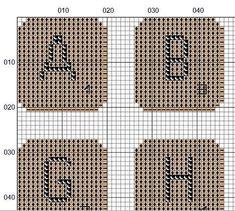 Personalised cross stitch pattern scrabble alphabet pdf