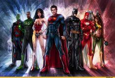 superheroes :: jasric :: Justice League :: art (beautiful pictures ...