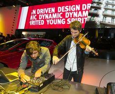 Celebra trupa SALM - Something a la Mode - in lounge-ul SEAT de la Salonul Auto Paris 2012