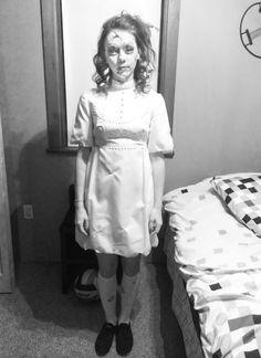 Creepy porcelain doll costume