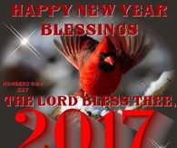 Happy New Year Blessings 2017