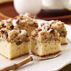 Cardamom-Spiced Crumb Cake...not really sure what cardamom is, but it looks delicious!