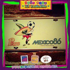 """el """"Pique"""" el chile más futbolero del mundial de México '86"""